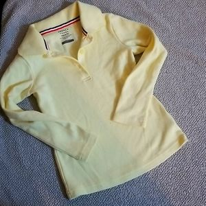 French Toast Yellow Long sleeve xs 4/5 girl top